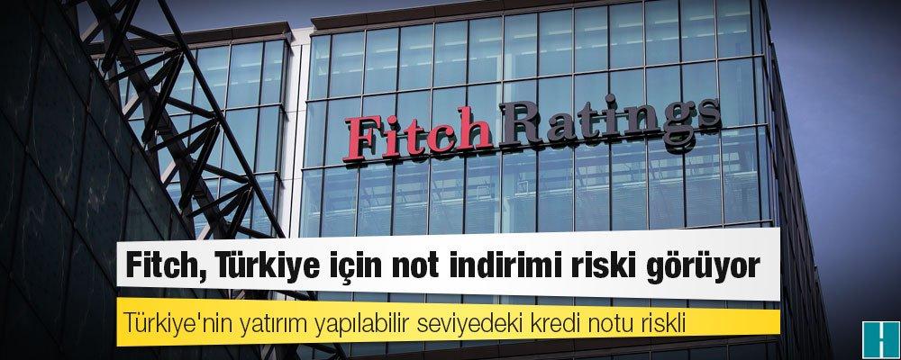 Fitch: Türkiye için not indirimi riski görüyoruz  https://t.co/ka09Bdk...