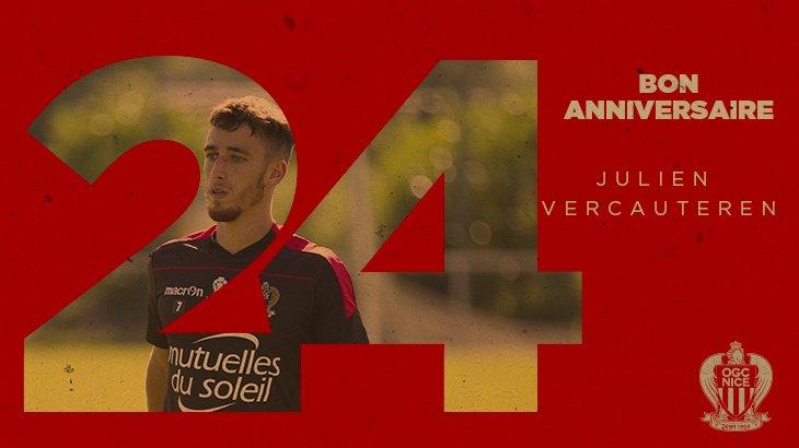 24 ans ce jeudi. Bon anniversaire Julien ! #Club <br>http://pic.twitter.com/rpXAVAn7f8