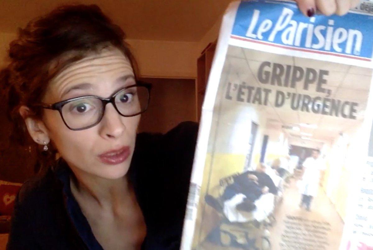 Grippe : le « plan com' de Touraine » agace une interne de l'AP-HP https://t.co/nLdYgGVaKE https://t.co/0Si0m05egG