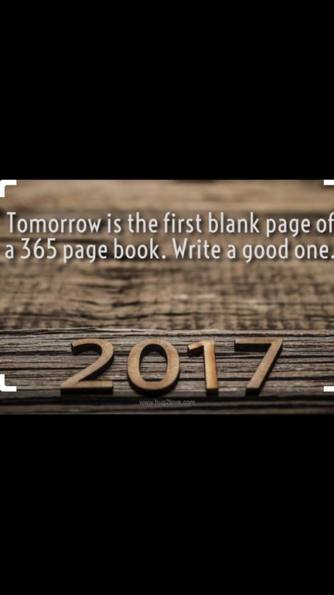 Got this sent to me, and thought I would share the idea, have a great start to 2017 all