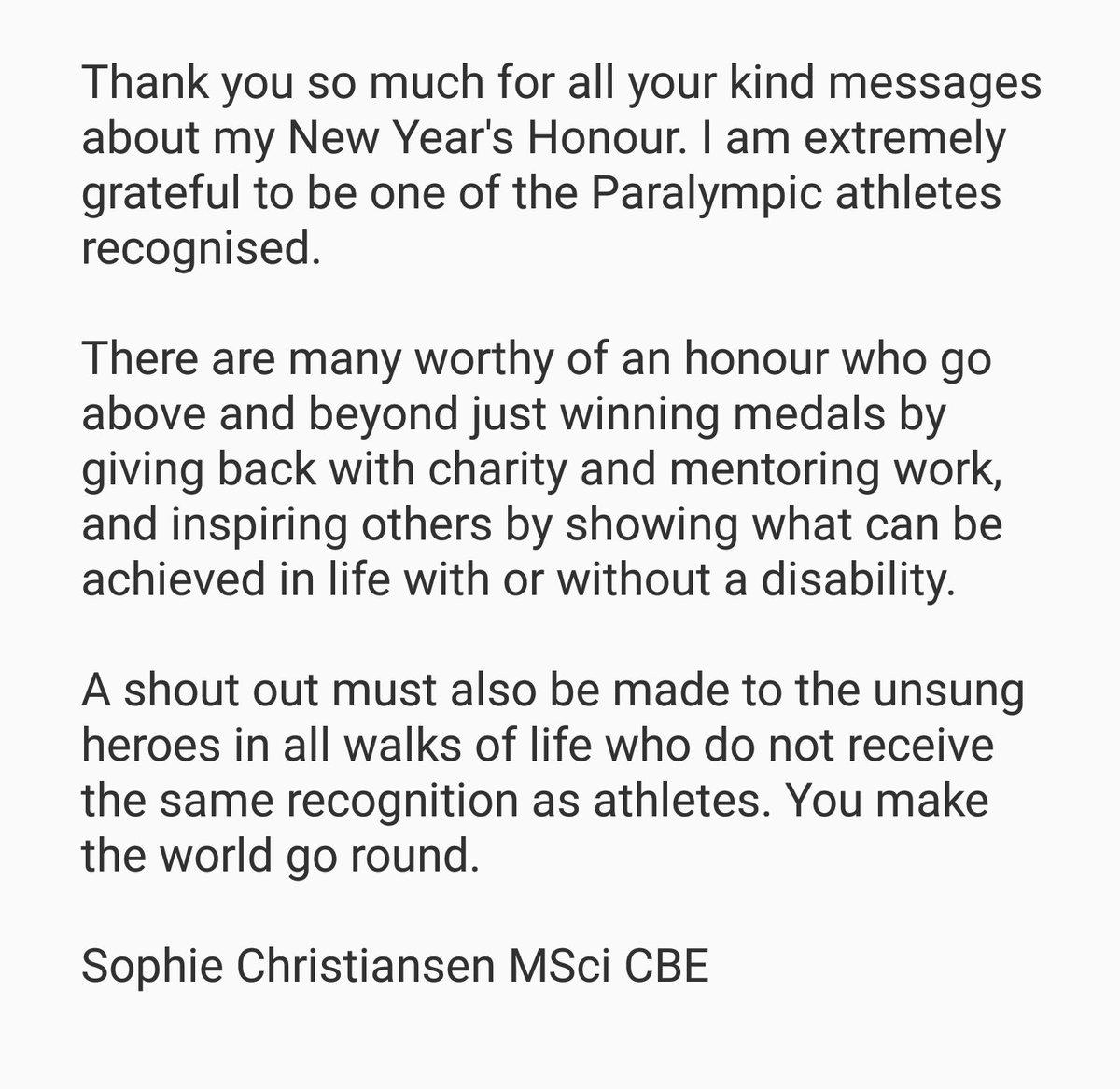 Sophie Christiansen on Twitter: \