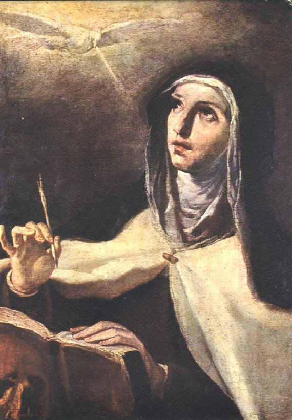 """For prayer is nothing else than being on terms of friendship with God."" — St. Teresa of Avila #catholicedchat #adwteach https://t.co/kEAJOoHWO6"