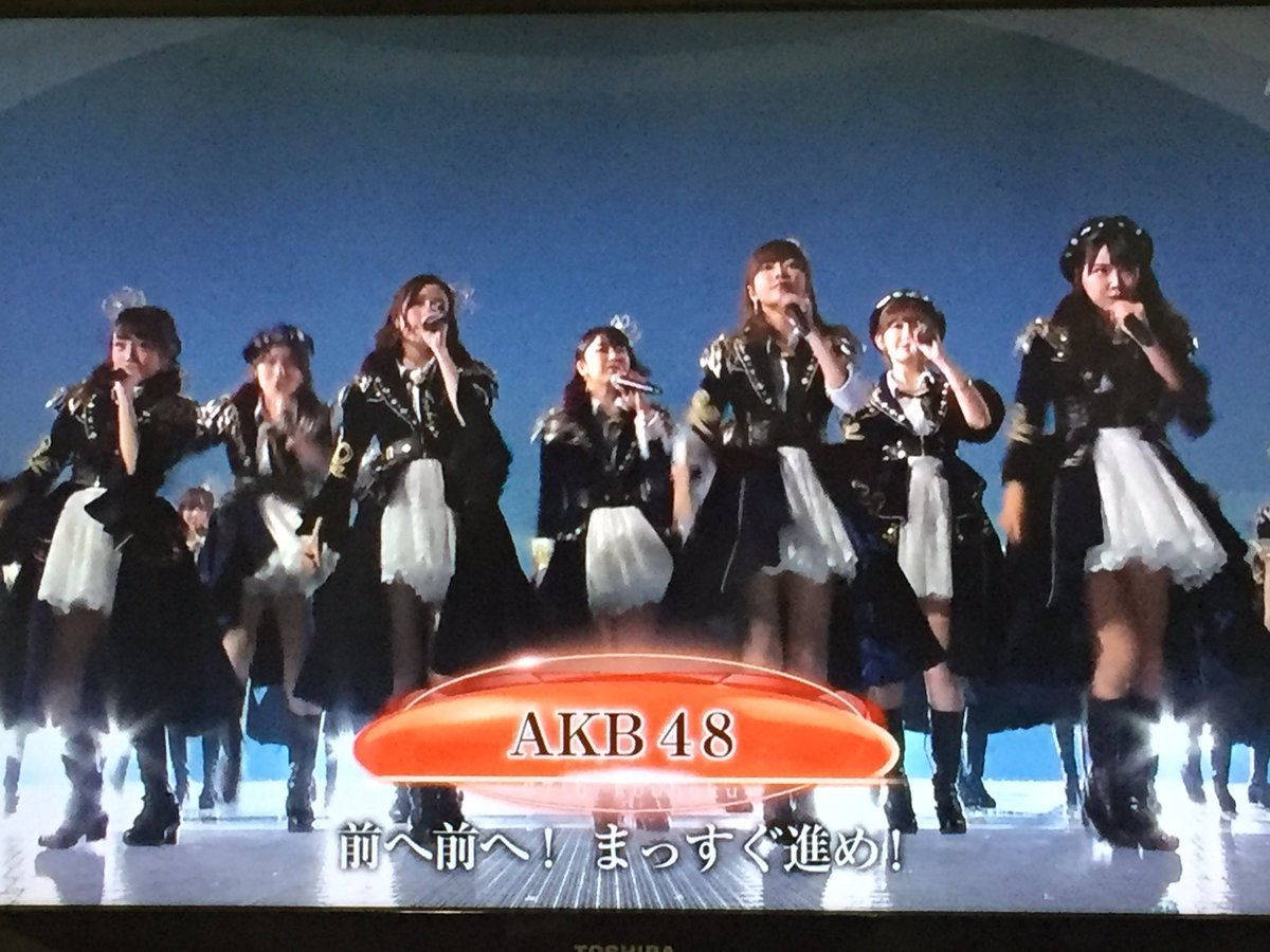 Never understod the power of Numbers - AKB48 Group on stage #NHK紅白  #kohaku #kouhaku - once I saw +200 on stage..<br>http://pic.twitter.com/tGOMgNtASp