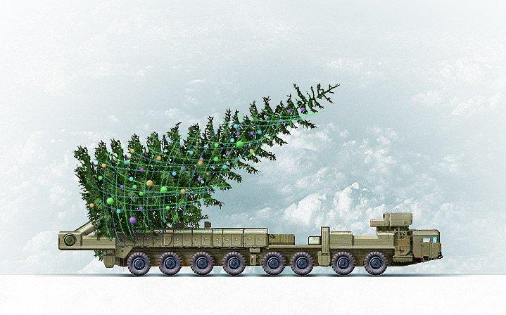 Помощь другу, военные картинки с новым годом