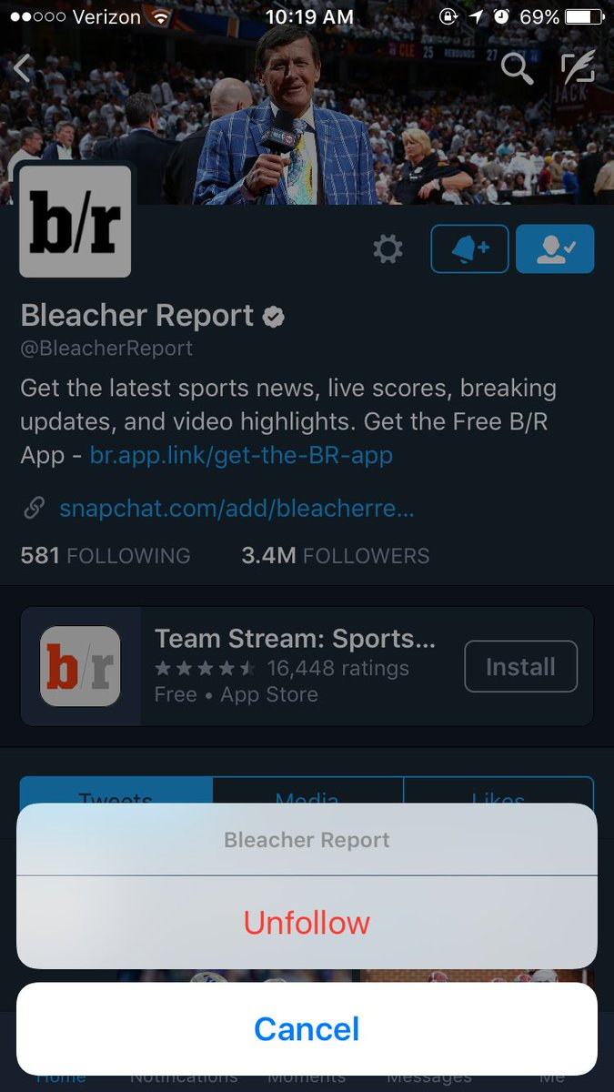 Bleacher Report on Twitter: