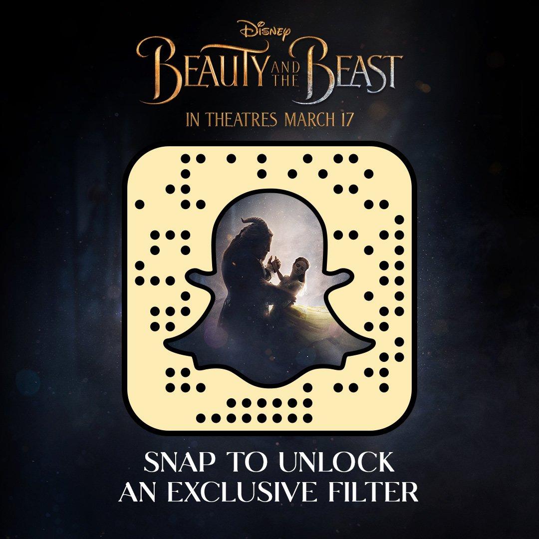 Snapchat Beauty Beast : Scan code Snapchat unlock exclusive