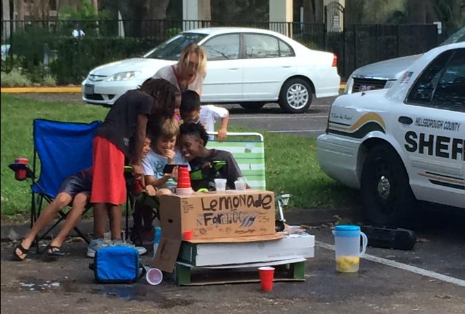 Brandon man gives back to kids robbed at lemonade stand