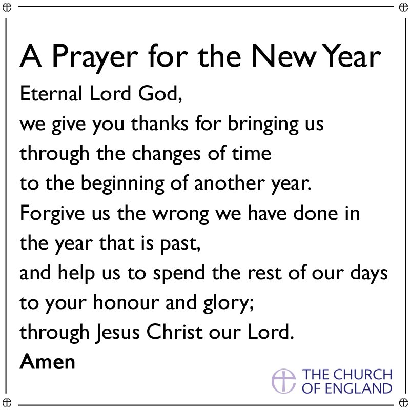 A prayer for the #NewYear ahead. We would like to wish everyone a very happy 2017! https://t.co/yfH4pUzkvt