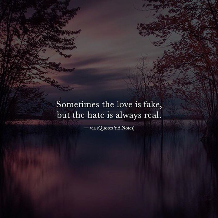 "Love Is Fake Quotes: Quotes 'nd Notes On Twitter: ""Sometimes The Love Is Fake"