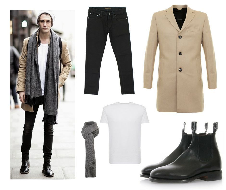 NEW YEAR OUTFIT. Outfit by @JLindeberg_, @nudiejeans and @RMWilliamsUK |   #menswear #mensoutfit #style