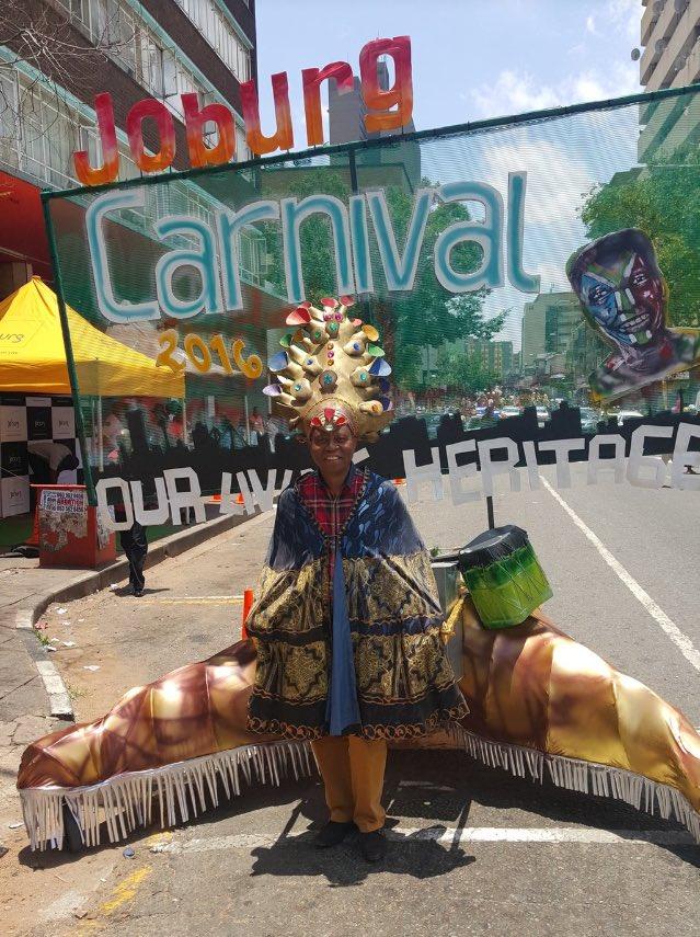 Our Exec Mayor @HermanMashaba in his #Joburgcarnival threads #JoburgNYE ^NS https://t.co/vcm6q5l4yS
