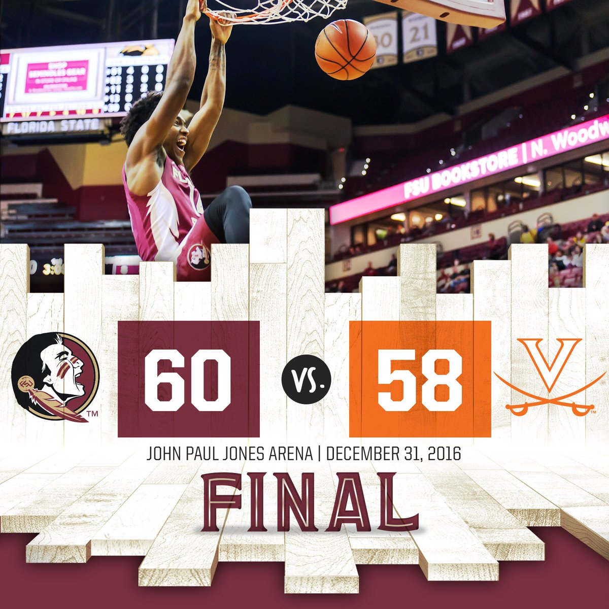 Spear Planted!!!!  #Noles WIN https://t.co/UkBICiVFDM
