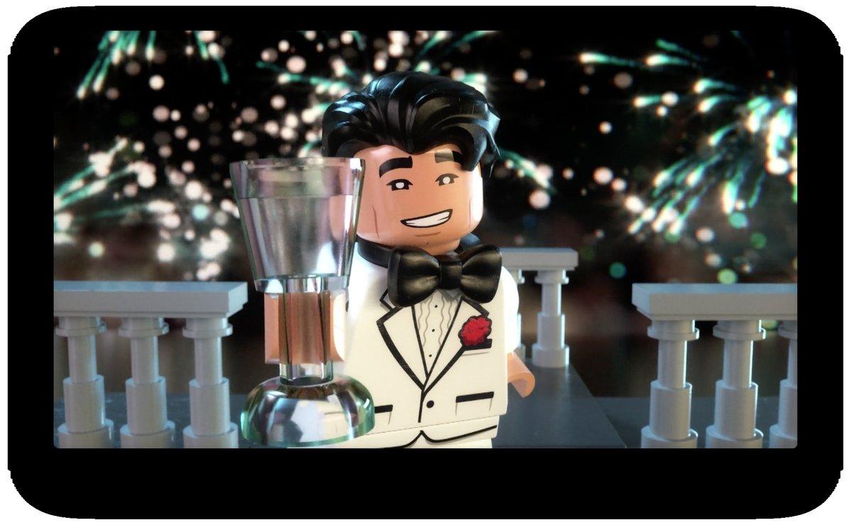 LEGO Batman Ushers In 2017 Channeling 'The Great Gatsby'