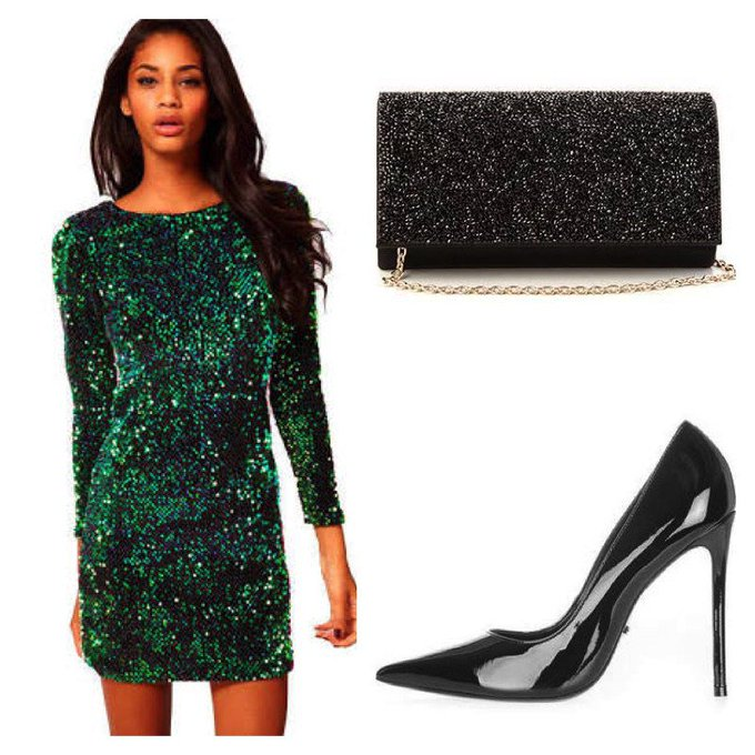 Festive Dress #ootd #fashionpost #style #lookbook #happynewyear