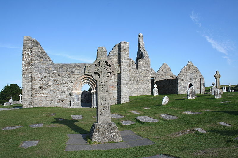 Jan 1: Feast of Airmedach of Cráeb Laisre, near Clonmacnoise #Offaly (in pic); prob a daughter-house [Ingo Mehling] https://t.co/GvLvo8avFs