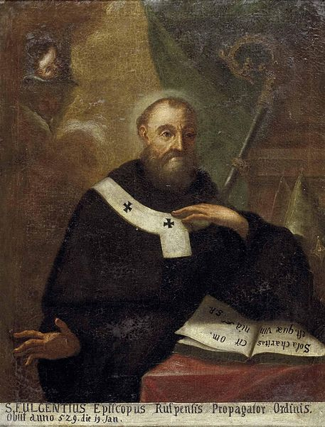 Jan 1: Feast of Fulgentius, bishop of Ruspe north #Africa; exiled during Vandal persecution but eventually returned https://t.co/WIOwjkr0xo