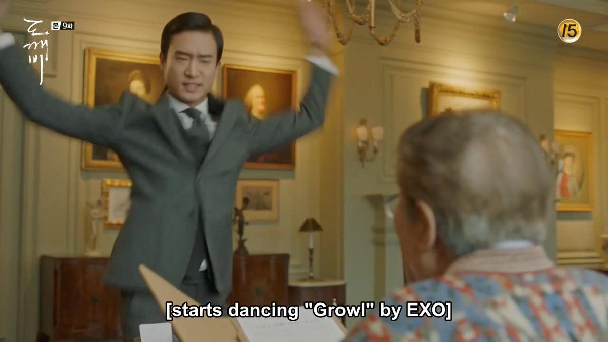 Image result for Goblin Kdrama exo growl dance