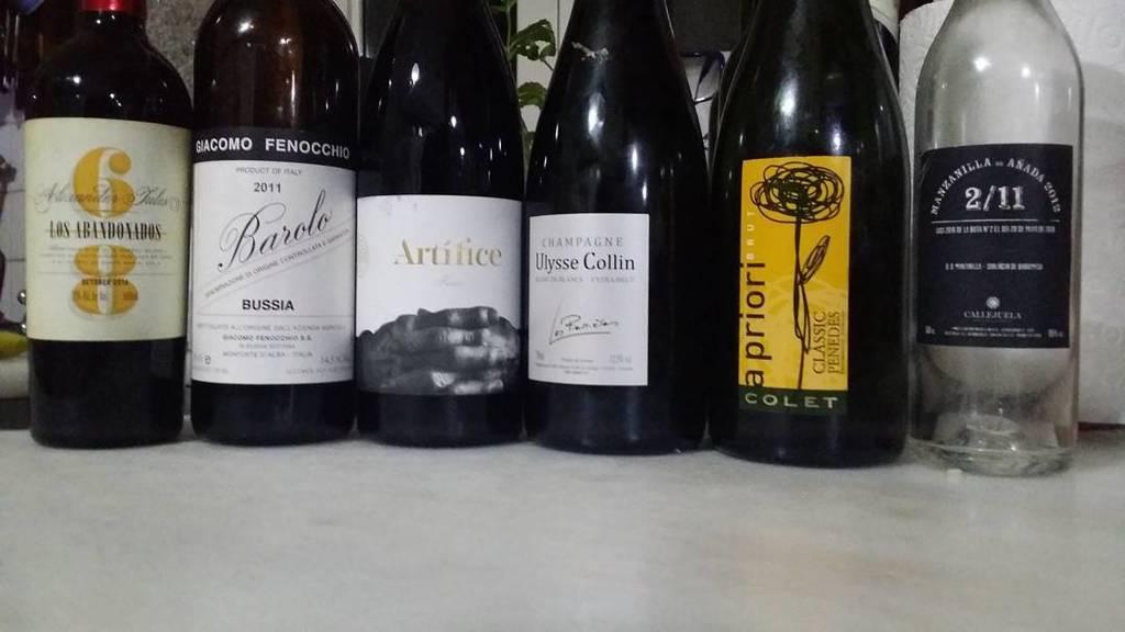 #findeaño2016 The final roster. #wine #vino #lovewine #winelover #wineproducer #vinosdeano…  http:// ift.tt/2iDeNiI  &nbsp;  <br>http://pic.twitter.com/KvyTDLHoKJ