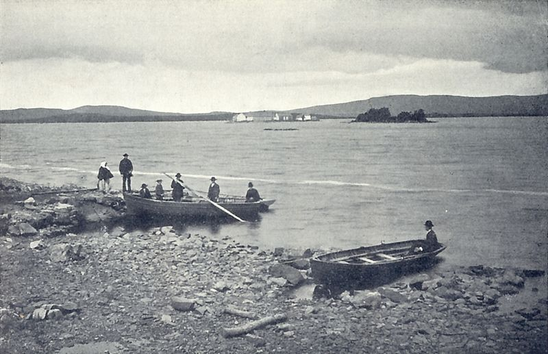Jan 1 Feast of Da Beóc of Loch Geirg (Lough Derg #Donegal), 1st patron of what became St Patrick's Purgatory [19thc] https://t.co/tBbAxrvwUD