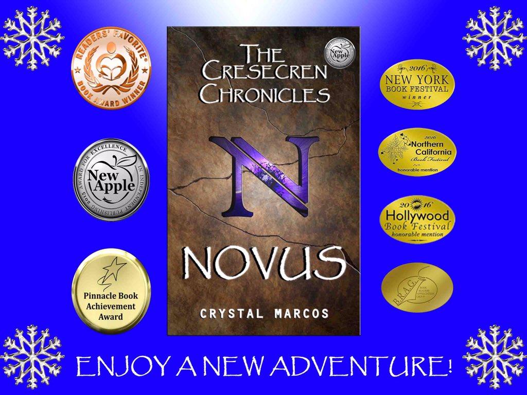 "'Novus: The Cresecren Chronicles' by @CrystalMarcos #YA #dystopian #suspense #IAN1 #ASMSG…  https://t.co/FGqEOyTD7n"" https://t.co/9B2fOqt1VF"