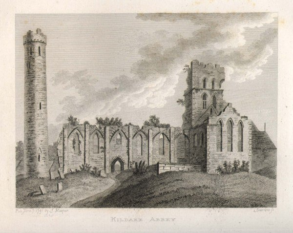 Jan 1: Feast of Comnat, abbess of #Kildare; death not in annals unlike many of Brigit's successors [Grose Antiq] https://t.co/eXsIUYFJhU