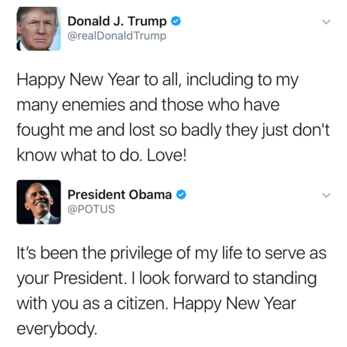 New Year wishes served two different ways. https://t.co/g9pW7TCm4o