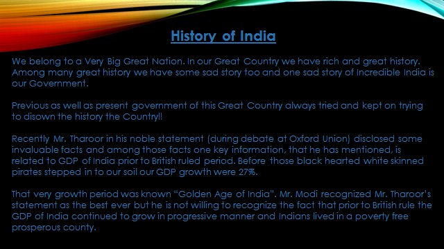 why india is great country