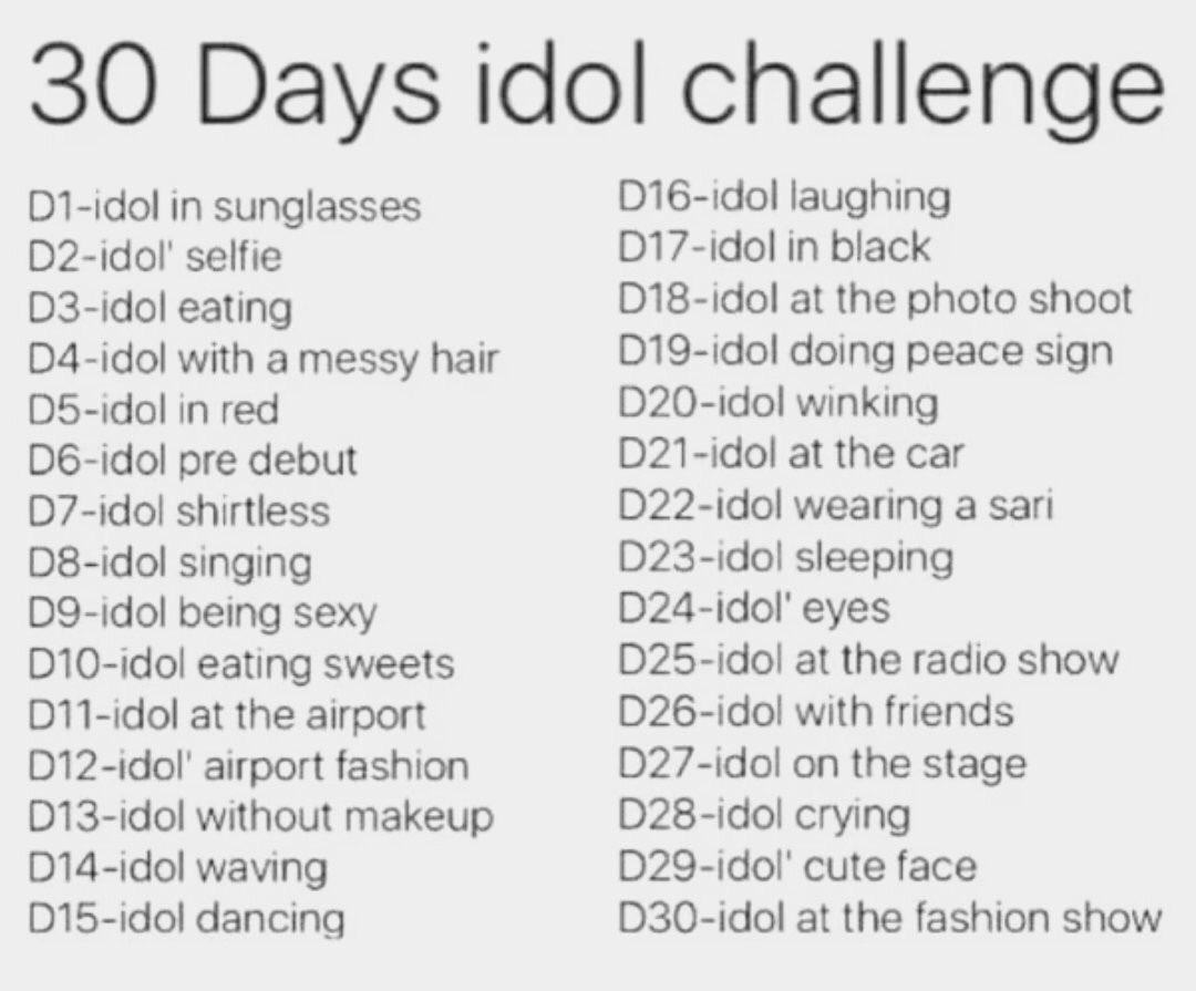 30 days idol Challenge C1GCfeEWQAAORUb