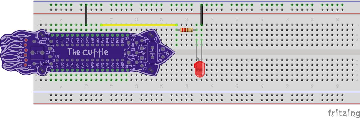 a Fritzing part for the #BoldportClub Cuttle