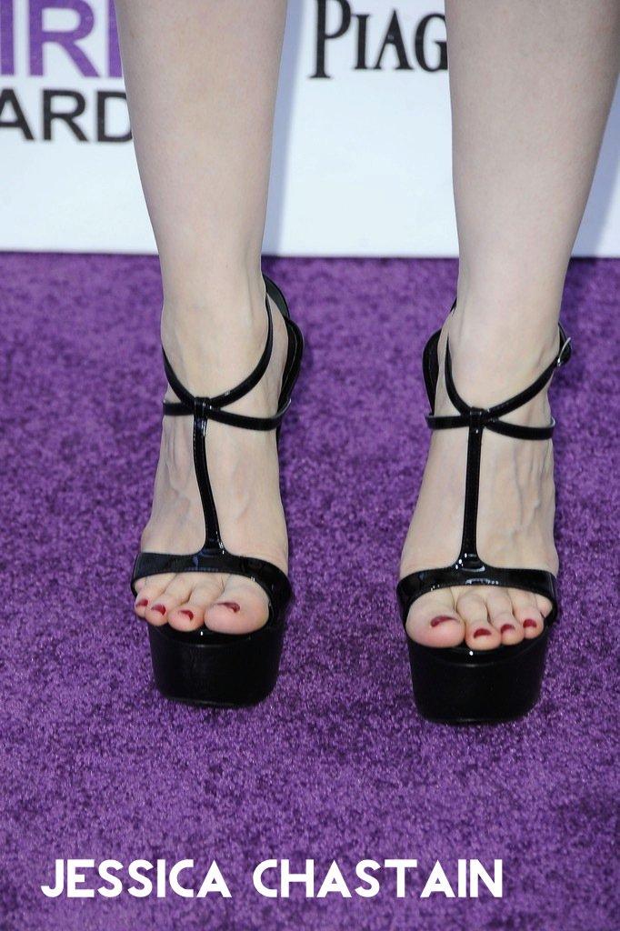 Feet jessica chastain Jessica Chastain