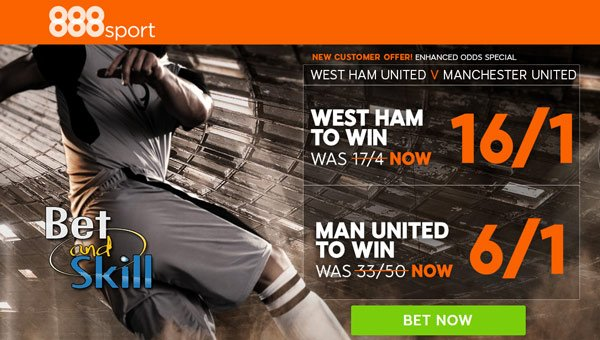 Enhanced Premier League Odds at 888sport