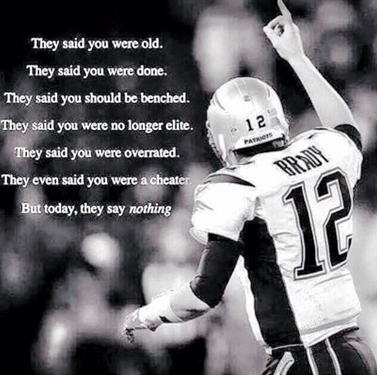 @Patriots #1 SEED...see you in Foxboro     LET'S GO !!! https://t.co/CqSJaQvQX5
