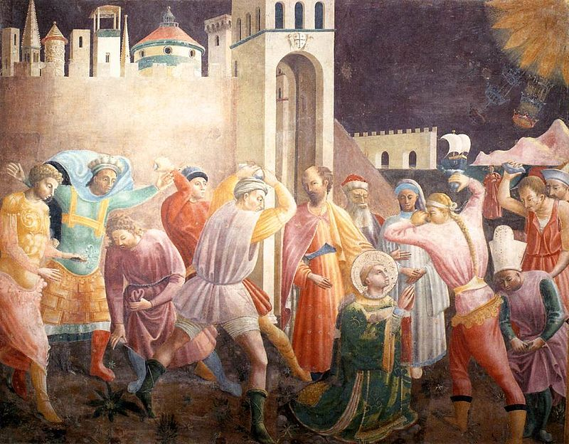 Jan 2: Feast of the Octave of Stephen, protomartyr; deacon in the early church at #Jerusalem [Paolo Uccello] https://t.co/td3NHescP8