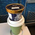 流石プロw運転士が教える新幹線のすごく固いアイスを食べやすくする方法がこれ!