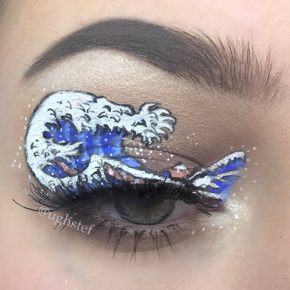 Do You Recognize These Artistic Eye Makeup Looks