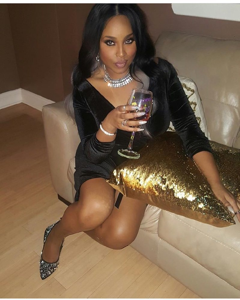 Former #BadGirlsClub star #TanishaThomas looks freakin' AMAZING! #NYE https://t.co/exi0SEcmXY https://t.co/cmCTUJHtTB