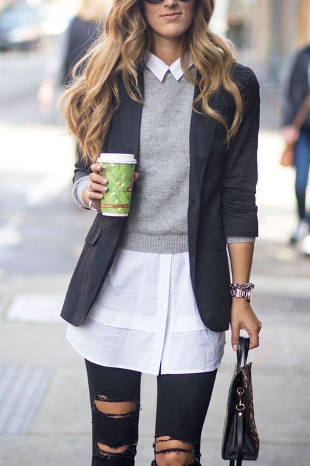 Menswear-Inspired Layers