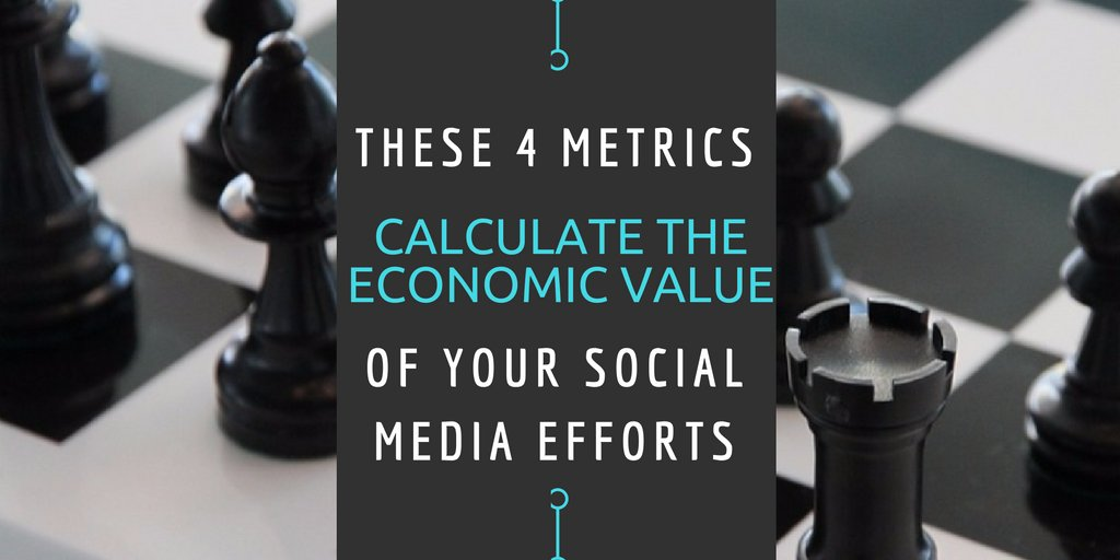 These 4 Metrics Calculate the Economic Value of Your SM efforts. #smm https://t.co/CvpgPQKWDZ https://t.co/MrzXGKNvKn