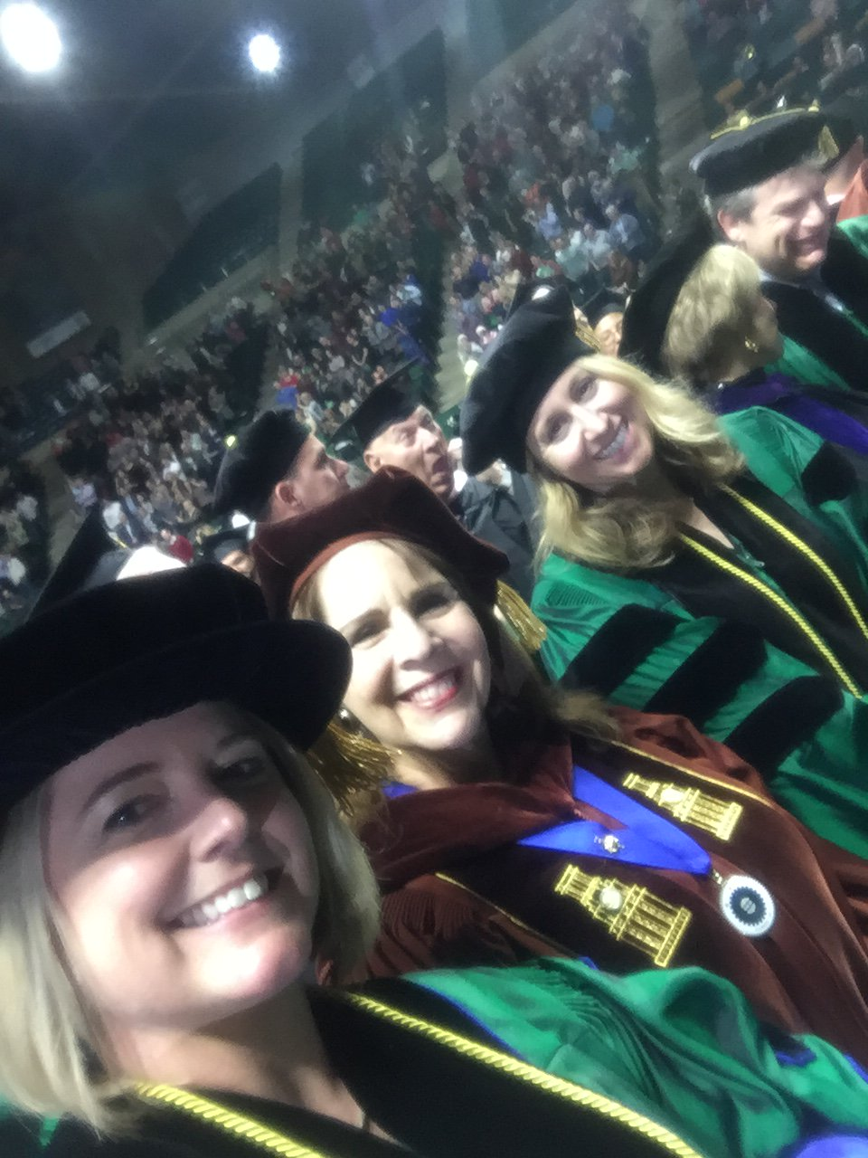 Greetings #txeduchat I'm Whitney from North Texas. I teach/consult in higher ed & took this pic in December from the floor of graduation! https://t.co/rITPIlfk2e