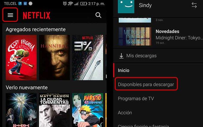 ¿Cómo descargar series y películas en Netflix?