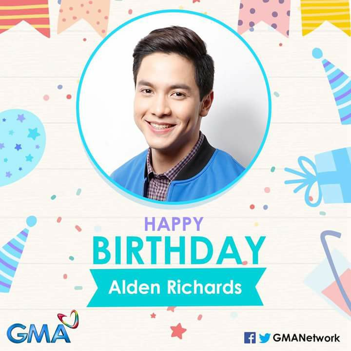 Happy birthday, Alden Richards! Maine all your wishes come true! Enjoy your day!