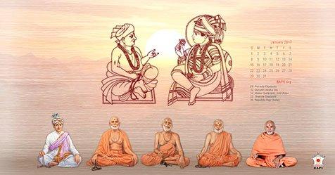 Happy New Year Jay Swaminarayan 30