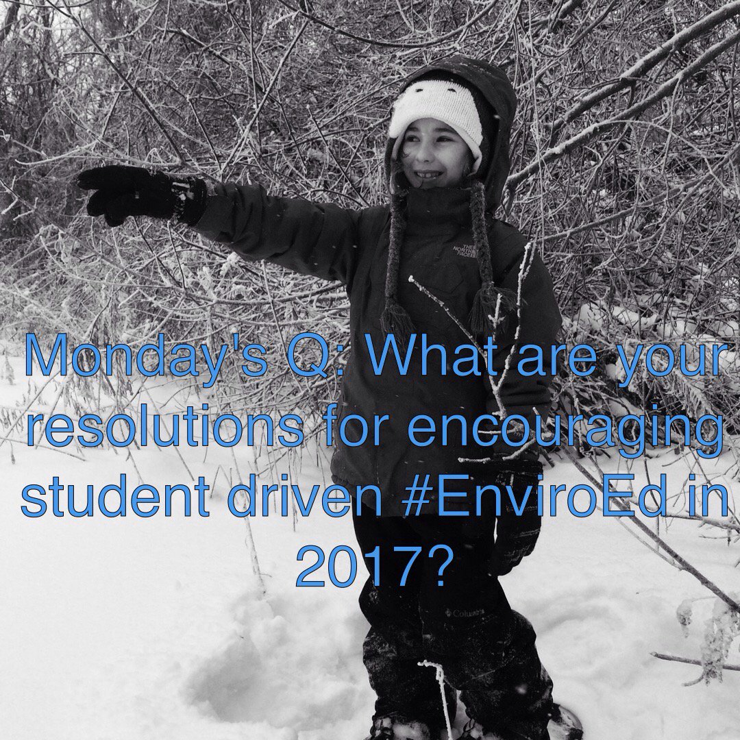 Thumbnail for A Week of #EnviroEd Chat to Start 2017