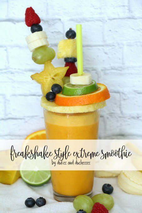 Whip up a delicious freakshake style extreme smoothie!
