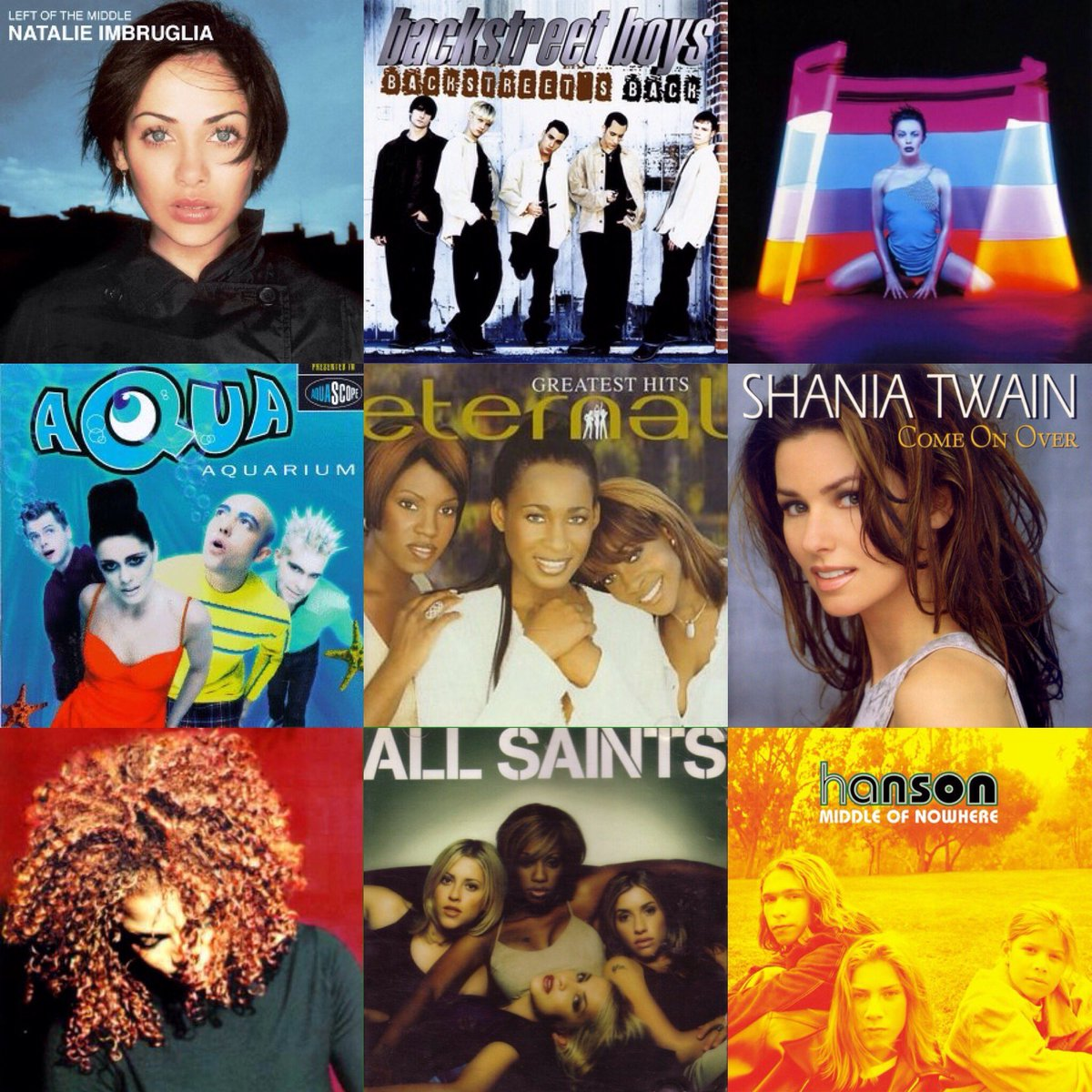These albums all turn twenty in 2017.   1997. What a year. https://t.co/z77MjqUbbX