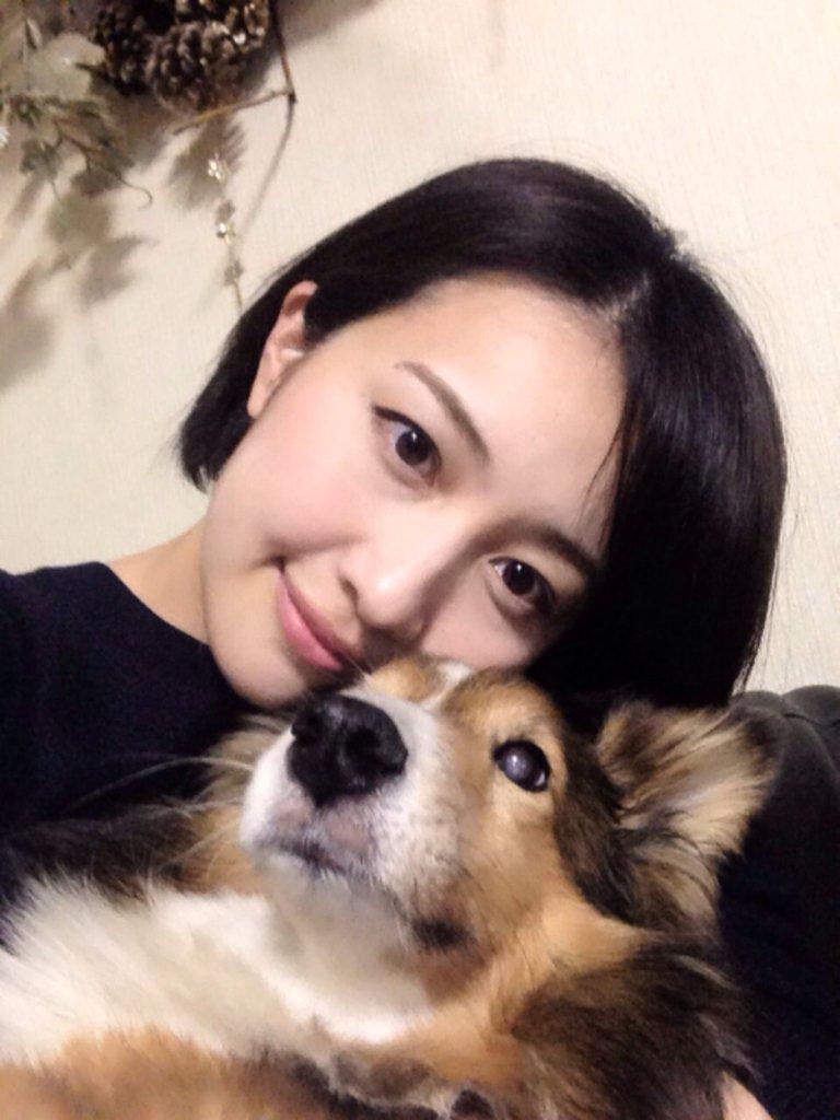 愛犬と相内優香