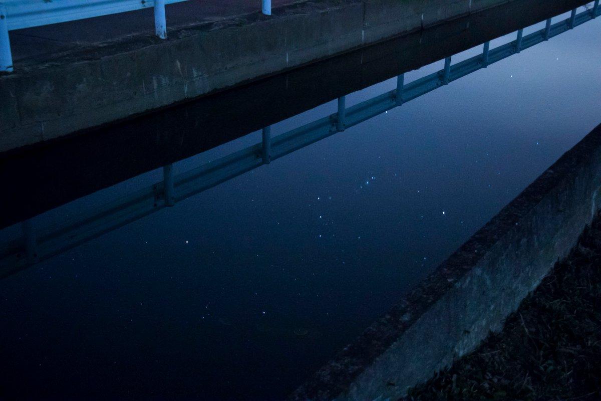 水の中のオリオン https://t.co/YiXbUGITHf