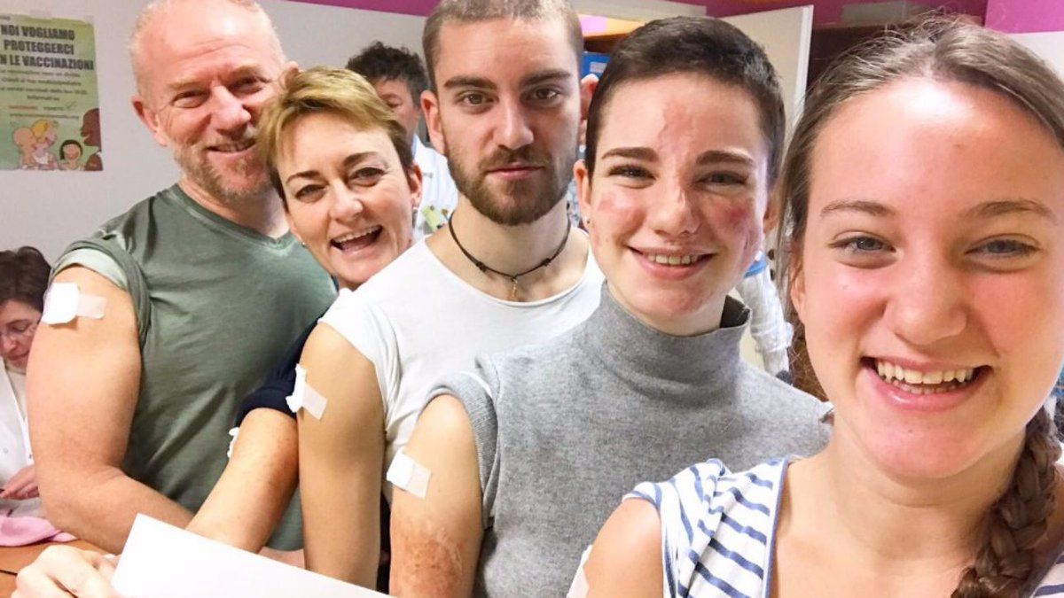 Bebe Vio pro vaccino contro la meningite