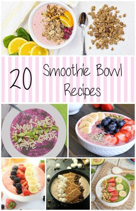 20 Smoothie Bowl Recipes