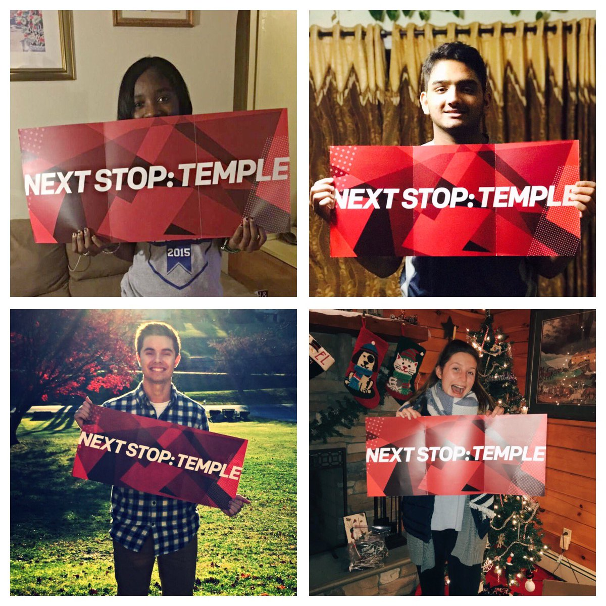 Temple Welcomes TempleUniv